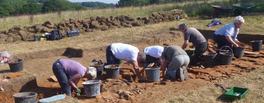 Dockenfield excavation