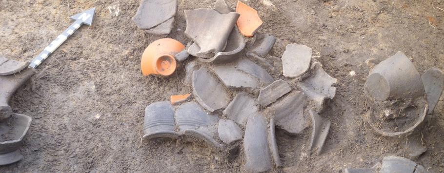 Flexford pottery