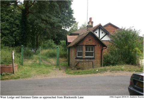West Lodge Chilworth